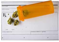 Prescription and container of medical marijuana