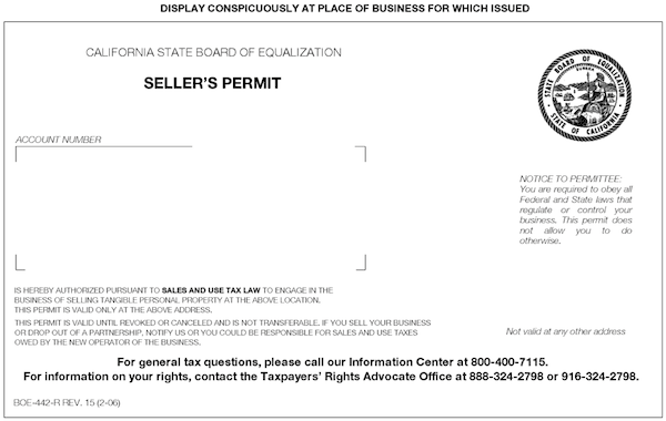 What's the Difference Between a Seller's Permit Issued by the ...