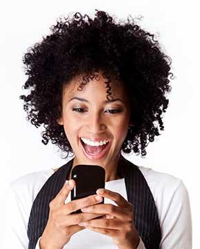 Metro PCS user texting